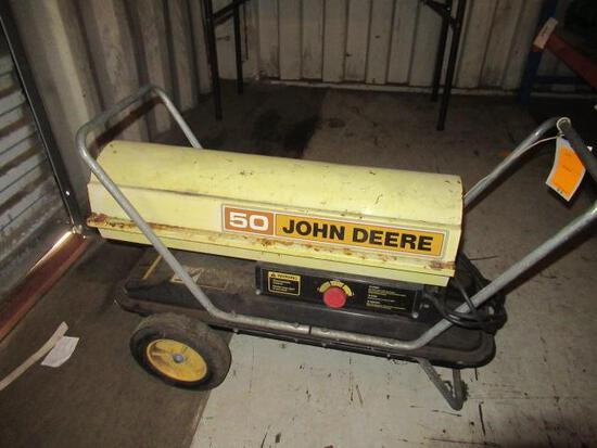 JOHN DEERE T50 KEROSENE HEATER W/ THERMOSTAT CONTROL
