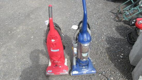 (2) HOME VACUUMS