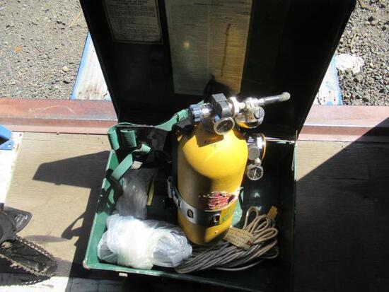 MSA THIRTY MINUTE SELF-CONTAINED BREATHING APPARATUS