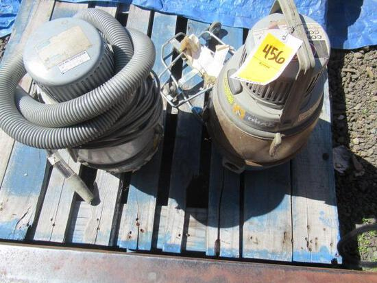 (2) NILFISK GM80 VACUUMS
