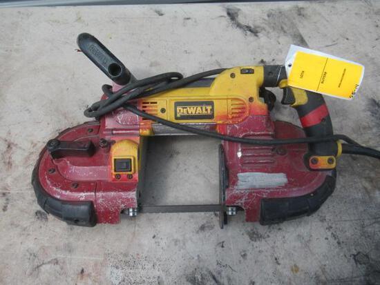 DEWALT DWM120 TYPE 2 BANDSAW, 120C AC, 10 AMPS, 60HZ