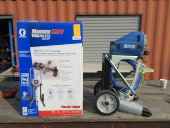 GRACO MAGNUM LTS 17 AIRLESS PAINT SPRAYER, 3000 PSI, 5/8 HP, MODEL # 17K960