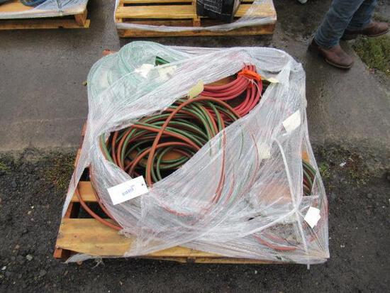 ASSORTED WELDING LEADS