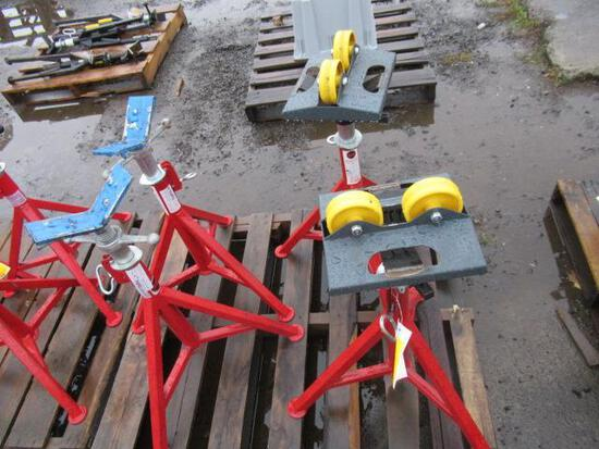 (4) PIPE STANDS