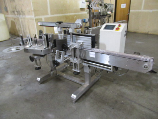 ACCUTEK ROUND & TWO SIDE LABEL APPLICATOR SYSTEM