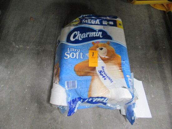 PARTIAL BAG CHARMIN ULTRA SOFT