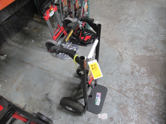 MILKWAUKEE PNUEMATIC TIRE CONVERTABLE HAND TRUCK (MISSING HANDLE)
