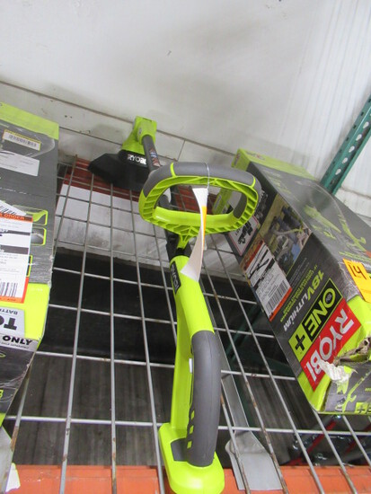 RYOBI 12'' 18V CORDLESS STRING TRIMMER (NO BATTERY OR CHARGER)