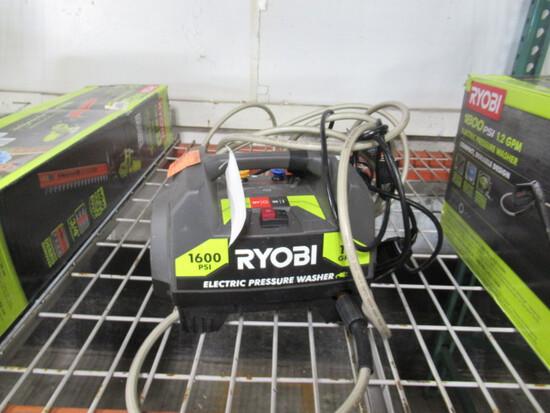 RYOBI 1600PSI ELECTRIC PRESSURE WASHER (NO WAND)