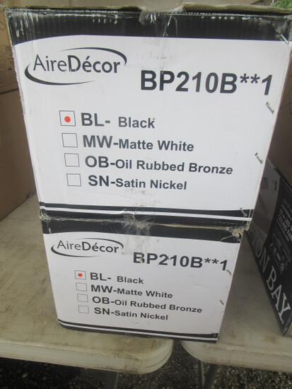 (2) AIREDECOR BP210B**1 CEILING FANS