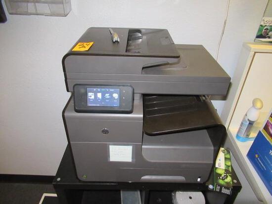 HP OFFICEJET PRO X476DN MFP PRINTER W/CABINET