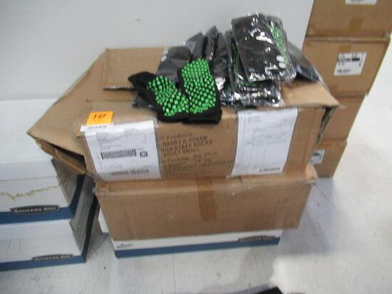 (3) BOXES OF ASSORTED TRAMPOLINE SOCKS