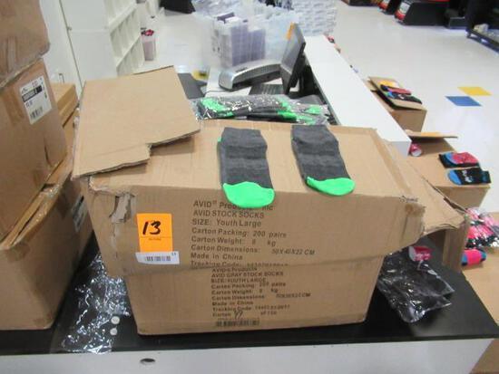 (2) BOXES OF ASSORTED TRAMPOLINE SOCKS