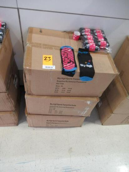 (3) BOXES OF SKY HIGH TRAMPOLINE SOCKS (SIZE XL)