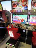 NAMCO ''MARIOKART ARCADE GP DX'' ARCADE GAME SERIAL # MKFC102006