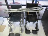 (2) WHEELCHAIRS & (2) SETS OF CRUTCHES