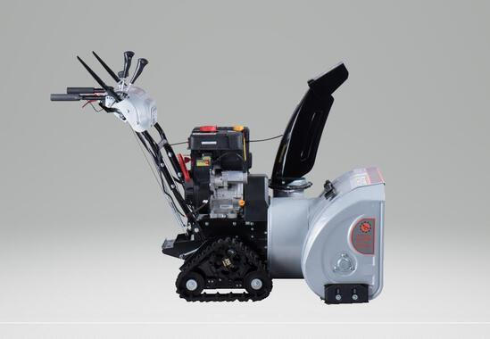 TMG GSB30 ELECTRIC START DUAL STAGE 30'' SNOW BLOWER W/ RUBBER TRACKS
