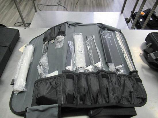 (3) MERCER KNIFE SETS W/CASES