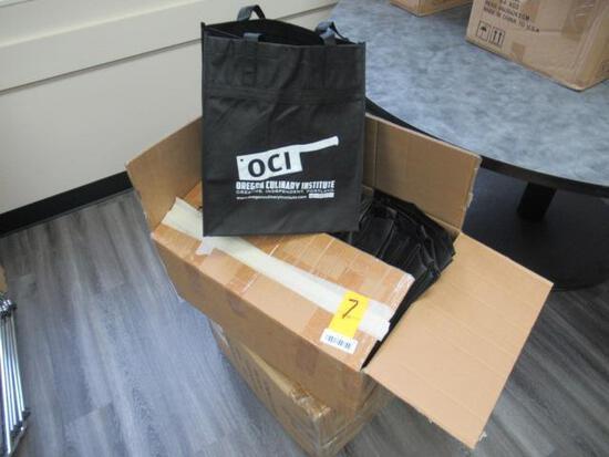 ASSORTED BLACK PLASTIC BAGS
