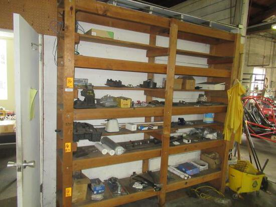 CONTENTS OF SHELVES - ASSORTED PARTS