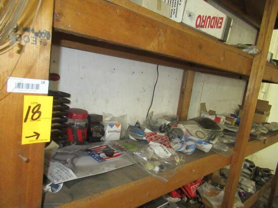 CONTENTS OF SHELF - ASSORTED PARTS