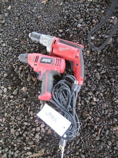 MILWAUKEE 1/2'' DRILL & SKILL ELECTRIC DRILL