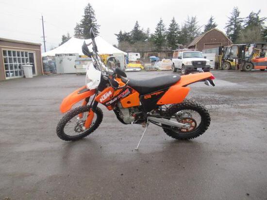 2007 KTM 450EXC MOTORCYCLE