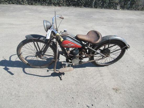 1942-1950 SIMPLEX SERVI-CYCLE MOTORCYCLE (1942-196=50)