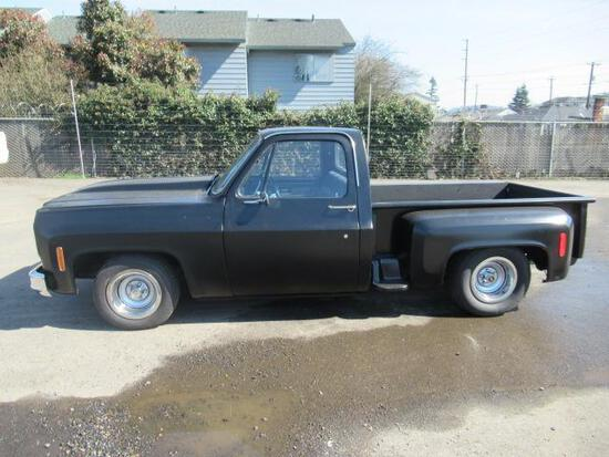 1977 CHEVROLET C10 SHORT BED STEP SIDE PICKUP