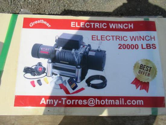 2021 GREATBEAR 20,000# ELECTRIC WINCH