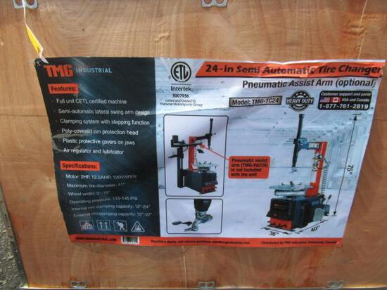TMG-TC24 2HP SEMI AUTOMATIC TIRE CHANGER