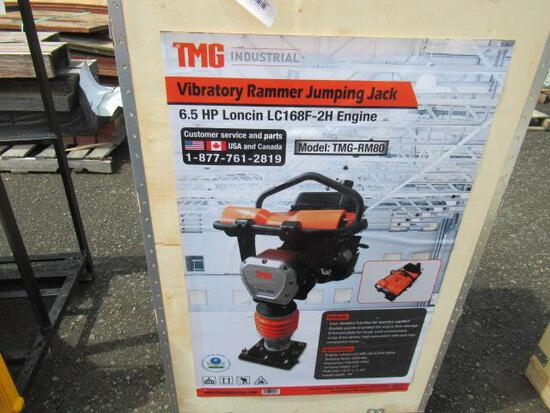TMG-RM80 TAMPING RAMMER / JUMPING JACK W/ LONCIN 6.5HP GAS ENGINE