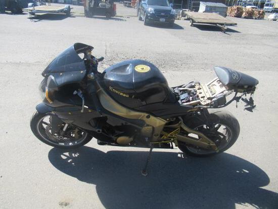 2006 KAWASAKI NINJA ZX-6R MOTORCYCLE