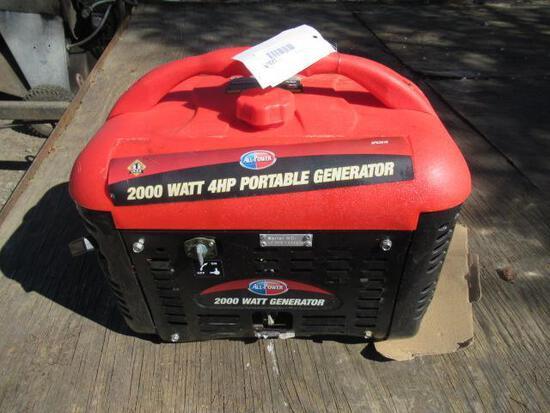 ALL-POWER 2000W GAS GENERATOR, 120V