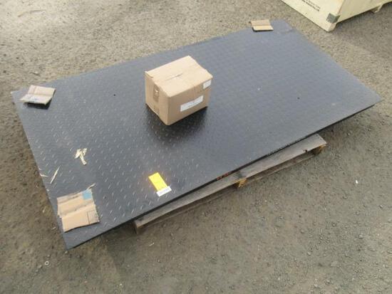 TMG INDUSTRIAL TMG-FS10 10 TON HIGH CAPACITY FLOOR SCALE W/ DIGITAL DISPLAY (UNUSED)
