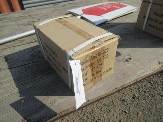 CASE OF AA BATTERIES (720 BATTERIES PER CASE)