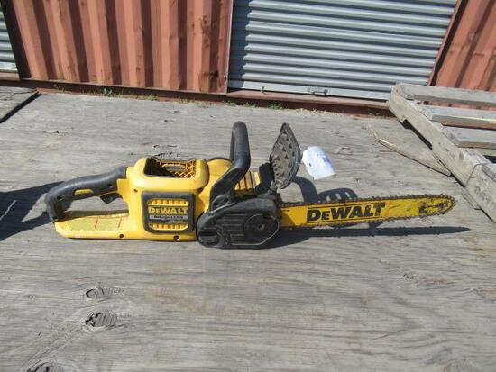 DEWALT DCCS670 670 60 VOLT MAX 16'' BRUSHLESS CORDLESS CHAINSAW (NO BATTERY OR CHARGER)