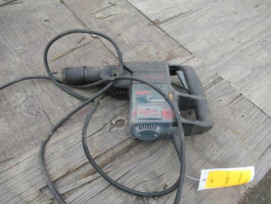 BOSCH 11222EVS 1 1/8'' ELECTRIC SDS ROTARY HAMMER DRILL