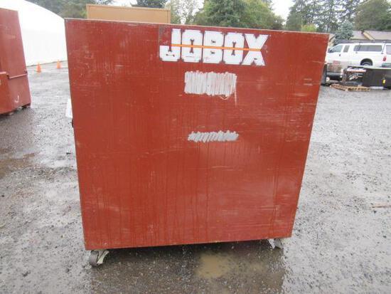 JOBOX 692990 ROLLING JOBSITE CLAMSHELL CABINET