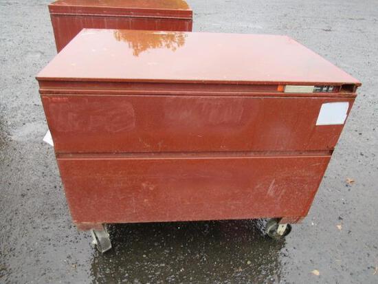 JOBOX 656990 CRESCENT CHEST STYLE JOBSITE BOX