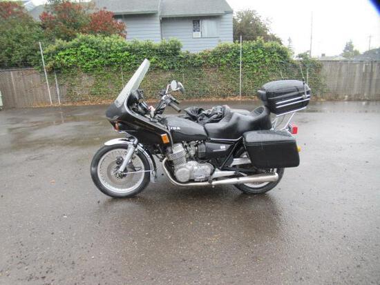 1977 HONDA SHADOW ROYALE 750 MOTORCYCLE W/ SIDE CART