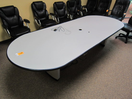 4' X 10' OVAL CONFERENCE TABLE