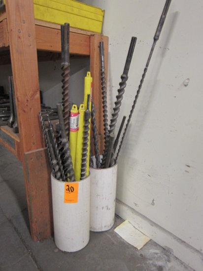 ROUND TUBE OF SPLINE DRILL AND HAMMER BITS