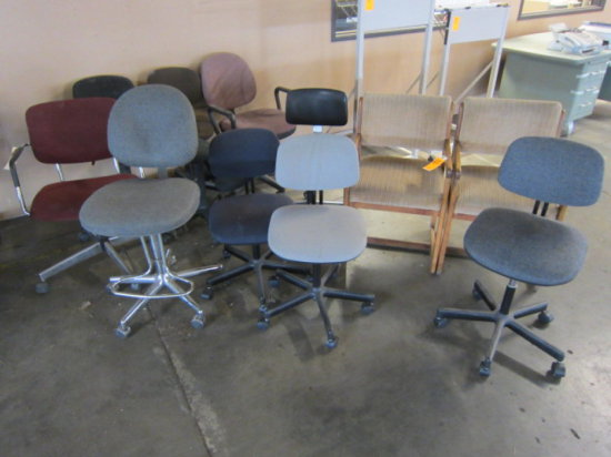 LOT OF (11) ASSORTED CHAIRS