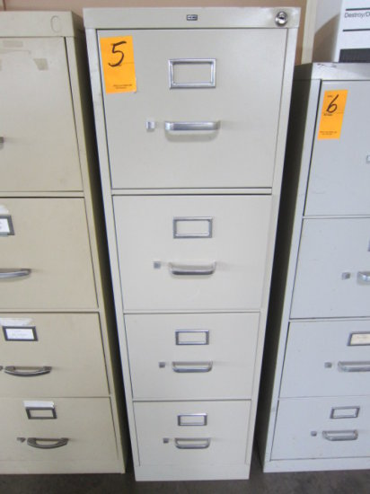 HON FOUR DRAWER FILE CABINET