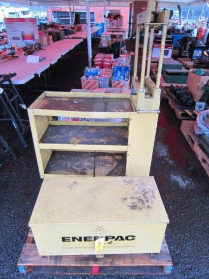 ENERPAC PORT-A-POWER W/STAND