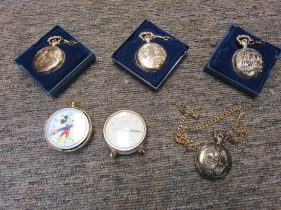 BAG OF POCKET WATCHES