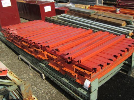 PALLET RACKING - (30) 44'' CROSSARMS & (3) 12' X 44'' UPRIGHTS