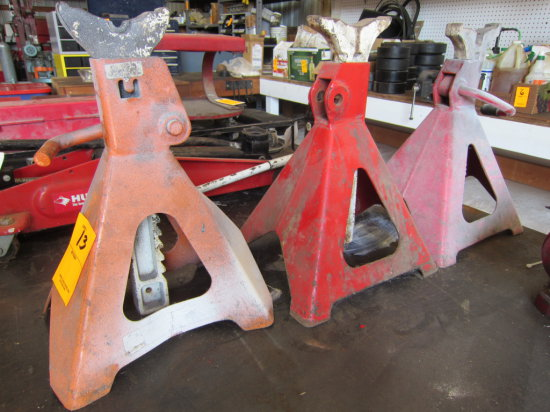 LOT OF 3 JACK STANDS