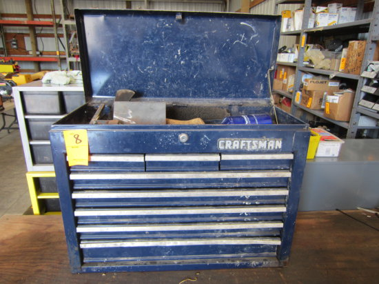 CRAFTSMAN 8 DRAWER TOOL CHEST (BLUE)